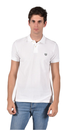 Polo Classic Fit Chaps Blanco 750603889-1049 Hombre