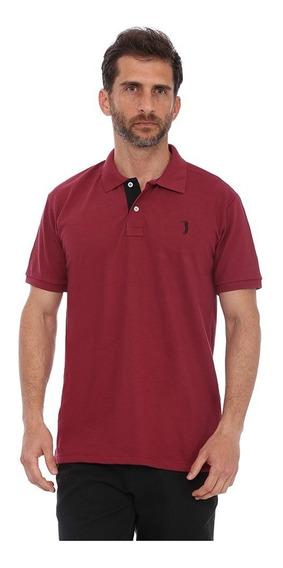 Camisa Polo Golf Club Slim Vinho