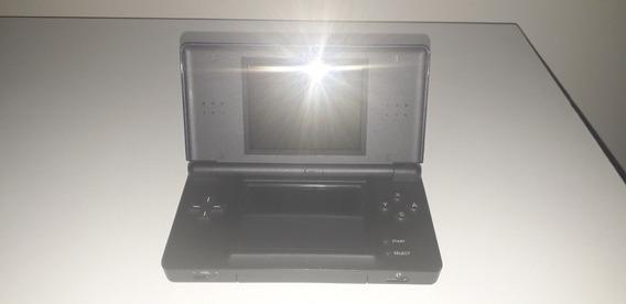 Nintendo Ds Lite Azul Marinho - C/ Jogos - Bom Estado