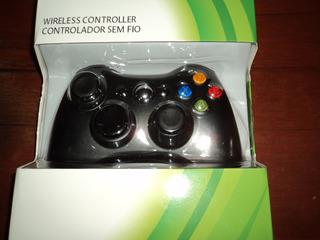 Mando Joystick Inalambrico Xbox 360 Y Pc Nuevo