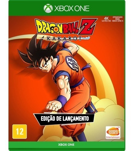 Dragon Ball Z Kakarot Xbox One Midia Fisica