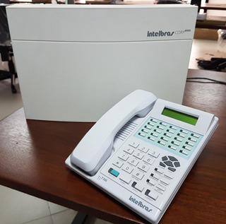 Central Pabx Telefônica Corp 8000 Intelbrás + Terminal 730i