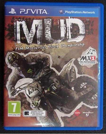 Mud - Fim Motocross World Championship De Ps Vita. (raro)