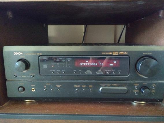 Receiver Denon Avr-884 6.1 Dts Dolby 90w Por Canal Excelente