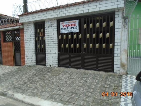 Casa Para Venda Em Praia Grande, Mirim, 3 Dormitórios, 2 Banheiros, 2 Vagas - 1295_2-681709