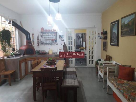 Lindo Sobrado Com 4 Dormitórios À Venda, 240 M² Por R$ 891.000 - Parque Mandaqui - São Paulo/sp - So0564