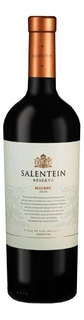 Vino Salentein Reserve Malbec X750cc