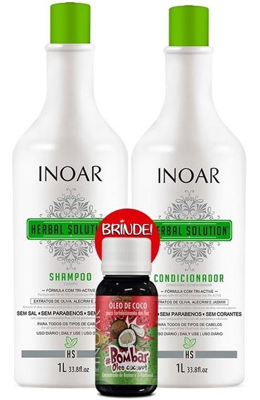 Inoar Herbal Solution Duo Kit Litro 02 Produtos