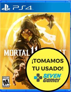 Mortal Kombat 11 Ps4 Mk 11 Fisico Sellado Canje Sevengamer