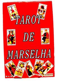 Tarot De Marselha Livro + Baralho 78 Cartas Pronta Entrega