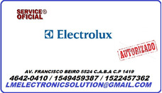 Service Oficial Electrolux Reparacion De Plaquetas.