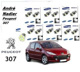 Peugeot 307 Kit De Led + Kit Xenon Baixo Milha