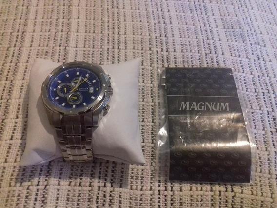 Relógio De Pulso Magnum Ma32005 - Nunca Usado