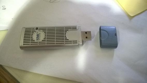 Adaptador Usb Wifi Smc Ez-connect 802.11g 108mbps - La Plata