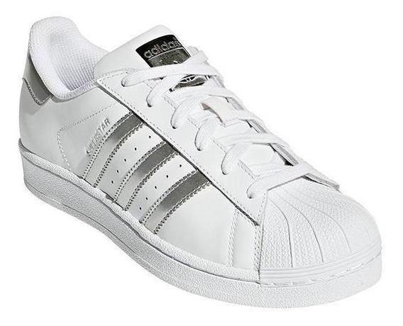 Adidas Superstar Baratas Plateadas Mujer Hombre - Calzado en ...