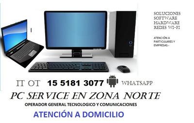 Servicio Técnico Computación A Domicilio Wifi Zn/caba