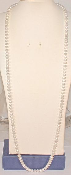 Rsp 4303 Maxi Colar Prata 925 Pérolas Akoya