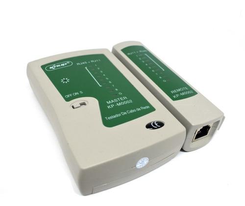 Tester Cable Red Lan Utp Rj45 + Rj11 Telefono