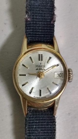 Reloj Haste Dama 21 Joyas 1967, Premexico