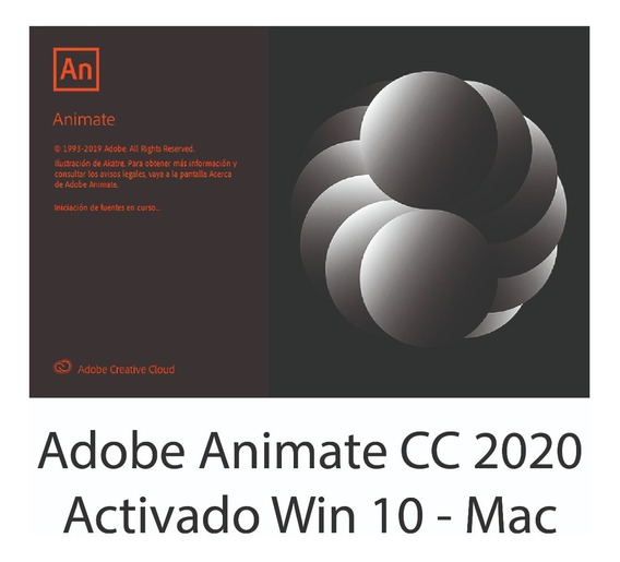 Animate Cc 2020 Activado Win 10 - Mac