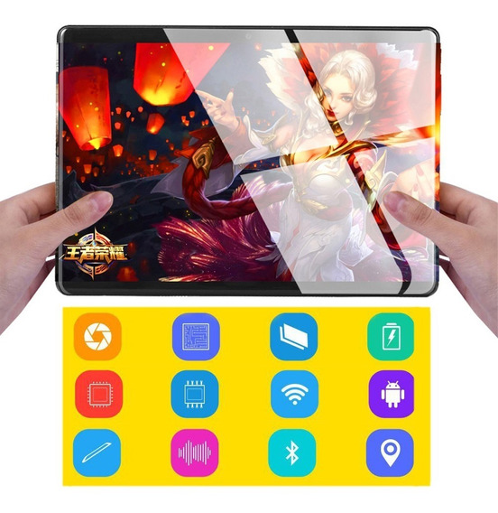 Phablet Android 8.0g Fhd Ips 64gb Gps - Tablet