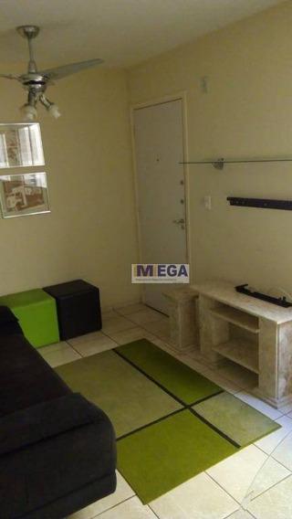 Apartamento Com 2 Dormitórios À Venda, 54 M² Por R$ 202.000 - Ponte Preta - Campinas/sp - Ap3667