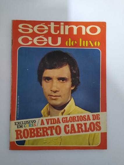 Revista Sétimo Céu De Luxo Nr 2 Janeiro 1967 Roberto Carlos