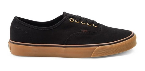 Tênis Vans Authentic Black Rubber 10647 Original