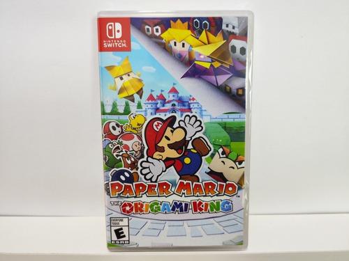 Paper Mario The Origami King Nintendo Switch - Lacrado