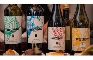 Bienconvino Pollo Y Cerdo Chardonnay -vino Marcelo Pelleriti