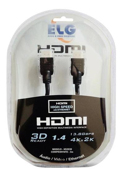 Cabo Hdmi ELG 3m Hs2030