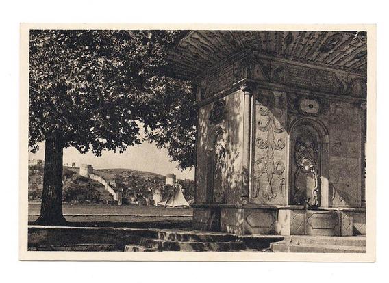 Antigua Postal Foto Fuente De Kucuksu Estambul Turquia 550
