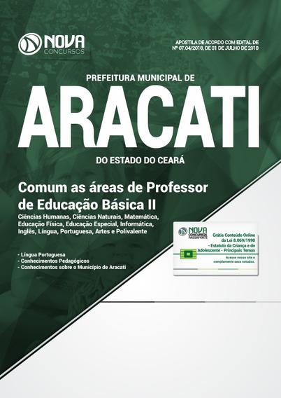 Apostila Prefeitura Aracati Ce 2018 Prof Educação Básica 2