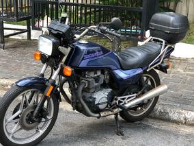 Honda Cb 450 Dx 1991 Unico Dono 10.500km