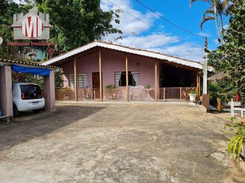 Imagem 1 de 30 de Excelente Chácara Com 3 Dormitórios, Bem Localizada, Pomar,  À Venda, 1872 M² Por R$ 320.000 - Zona Rural - Pinhalzinho/sp - Ch0435