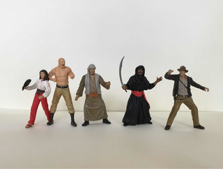 Lote X5 Figuras Indiana Jones Disney Los Germanes