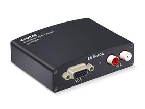 Adaptador Conversor Vga X Hdmi C/ Audio