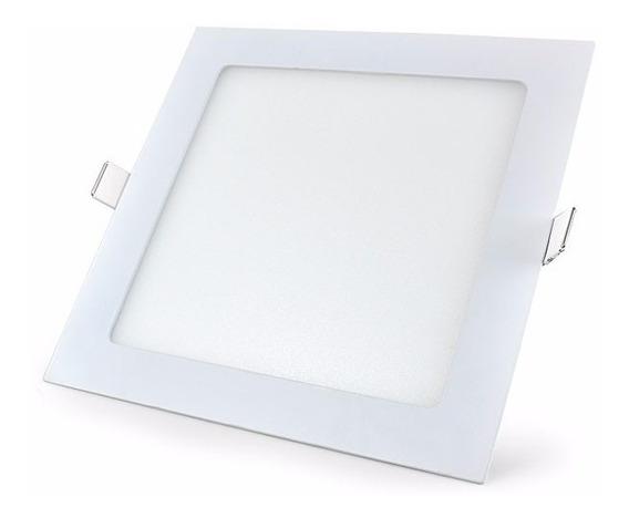 Luminaria De Embutir Led Painel 24w 30cm Quadrado Gesso