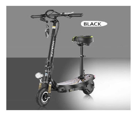 Monopatin Electrico Scooter Y-s018 Con Asiento - Racer Bikes