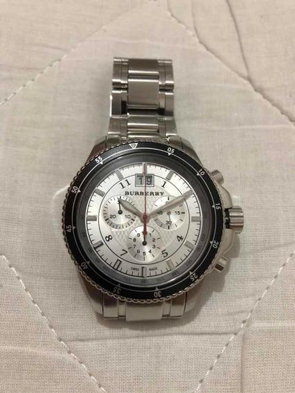 Relógio Suíço Burberry Cronômetro