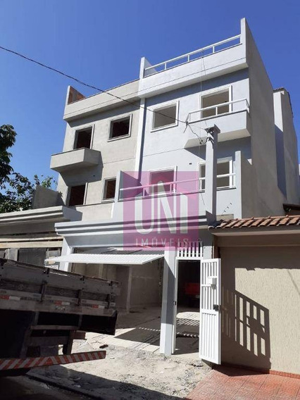 Cobertura Com 2 Dormitórios À Venda, 96 M² Por R$ 320.000 - Vila Curuçá - Santo André/sp - Co0887