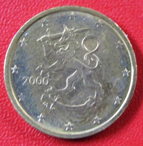 Finlandia Moneda 2 Centavos 2000 Unc Km #99