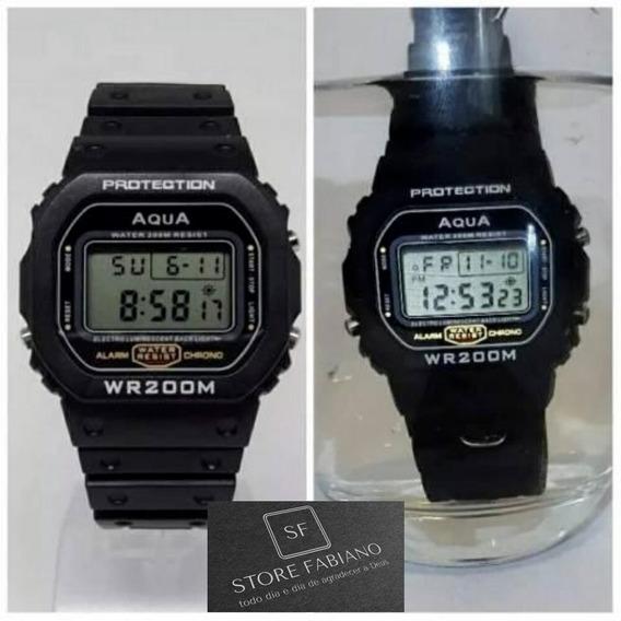 Relógio Digital Jair Bolsonaro Aqua Wr200 Em Oferta!