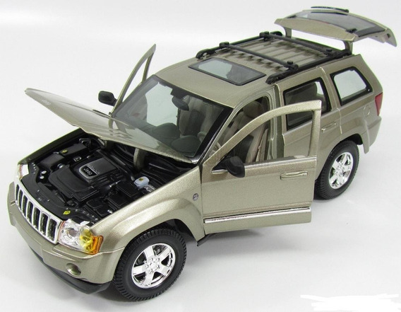 Jeep Grand Cherokee 2005 Escala 1/18 Maisto