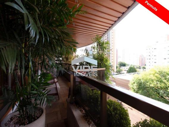 Apartamento Duplex Venda Altíssimo Padrão Cambuí Com 5 Vagas - Ap09296 - 33677503