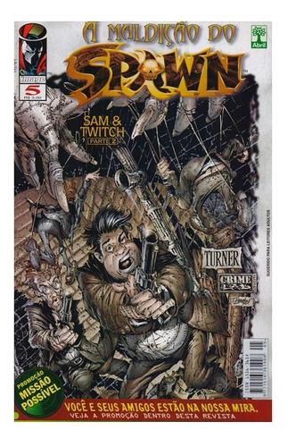 A Maldição Do Spawn 5 Gibi Abril Jovem Image Comics