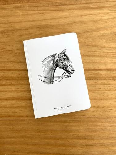Cuaderno Con Lomo Caballo - Mil Letterpress