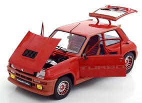 1/18 Renault 5 Turbo 1984 Solido Metal Miniatura