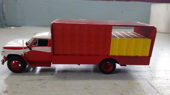 Miniatura Caminhão Chevrolet D65 - Escala 1:43