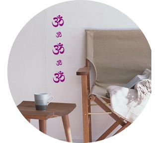 Vinilos Decorativos Signo Om Zen Relax Meditacion